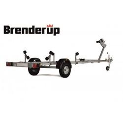 Lodný príves Brenderup Basic 750