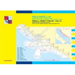 Námorné mapy  ,, Male Karte II DIO spodná čásť.