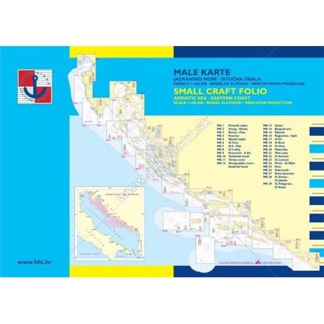 Námorné mapy  ,, Male Karte Komplet