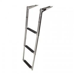 Rebrík – teleskopický, nerezový