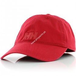 Šiltovka LOGO CAP RED - Helly Hansen