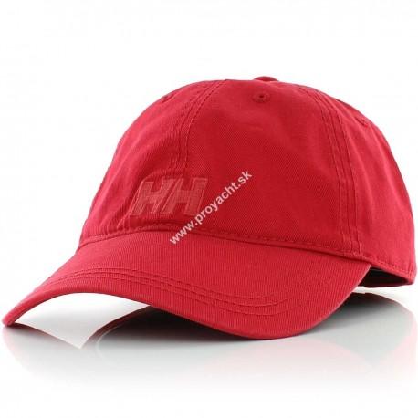 Šiltovka LOGO CAP RED - Helly Hansen