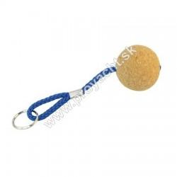 Prívesok na kľúče - korkový