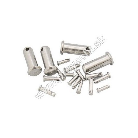Zaisťovacie kolíky - Ø 5 mm - nerez