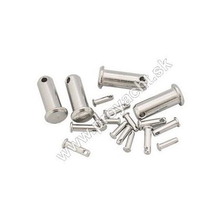 Zaisťovacie kolíky - Ø 6 mm - nerez