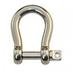 šekel - nerezové závesné oko 4mm až 16mm - tvar Omega-  AISI 316L