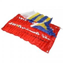 Vlajky - súprava signálnych vlajok