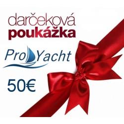 Darčková poukážka na nákup tovaru v hodnote 50€