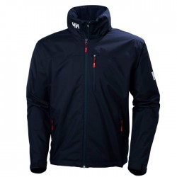 Bunda CREW HOODED JACKET NAVY- Helly Hansen