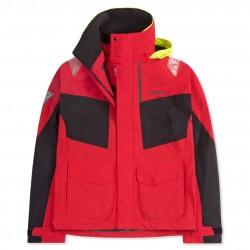 Pánska jachtárska bunda MUSTO BR2 červeno-čierna