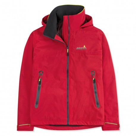 Pánska jachtárska bunda MUSTO BR1 INSHORE červeno-čierna