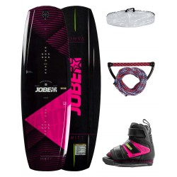Wakeboard WOMEN JOBE VANITY 136 - viazanie HOST - ružový set