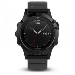 Multišportové hodinky - fénix 5 Sapphire, čierne - GARMIN