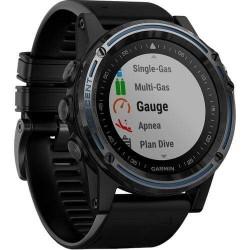 Potápačské hodinky - Descent™ Mk1 Sapphire šedé, čierny remienok - GARMIN