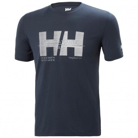 Tričko  HP RACING  - Helly Hansen - navy